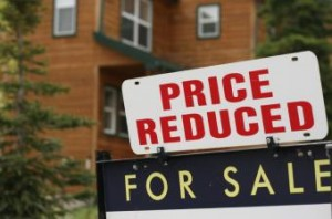 reduction in home prices